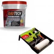 Tinta Teto Banheiro Bautech 3,6l (BRINDE Kit Pintura Condor)