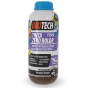 Tinta Zero Bolor Fosca - Sem Humidade Parede Bautech 900ml