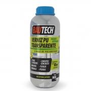 Verniz Pu Transparente Sem Cheiro Bautech Frasco 900ml