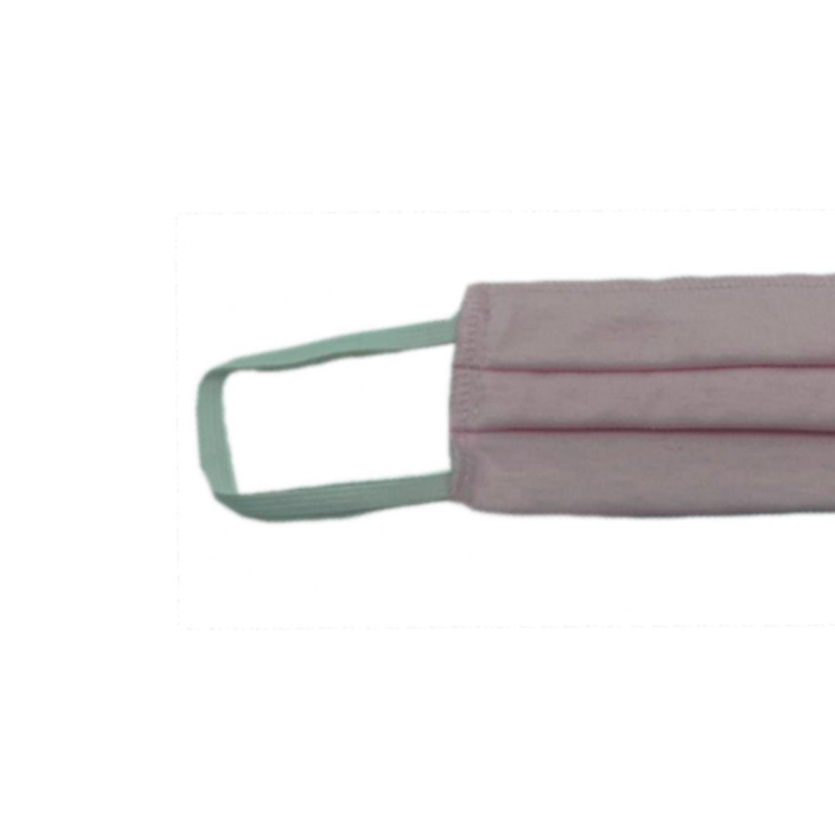 2 Máscaras Reutilizáveis Proteção Respiratória Rosa