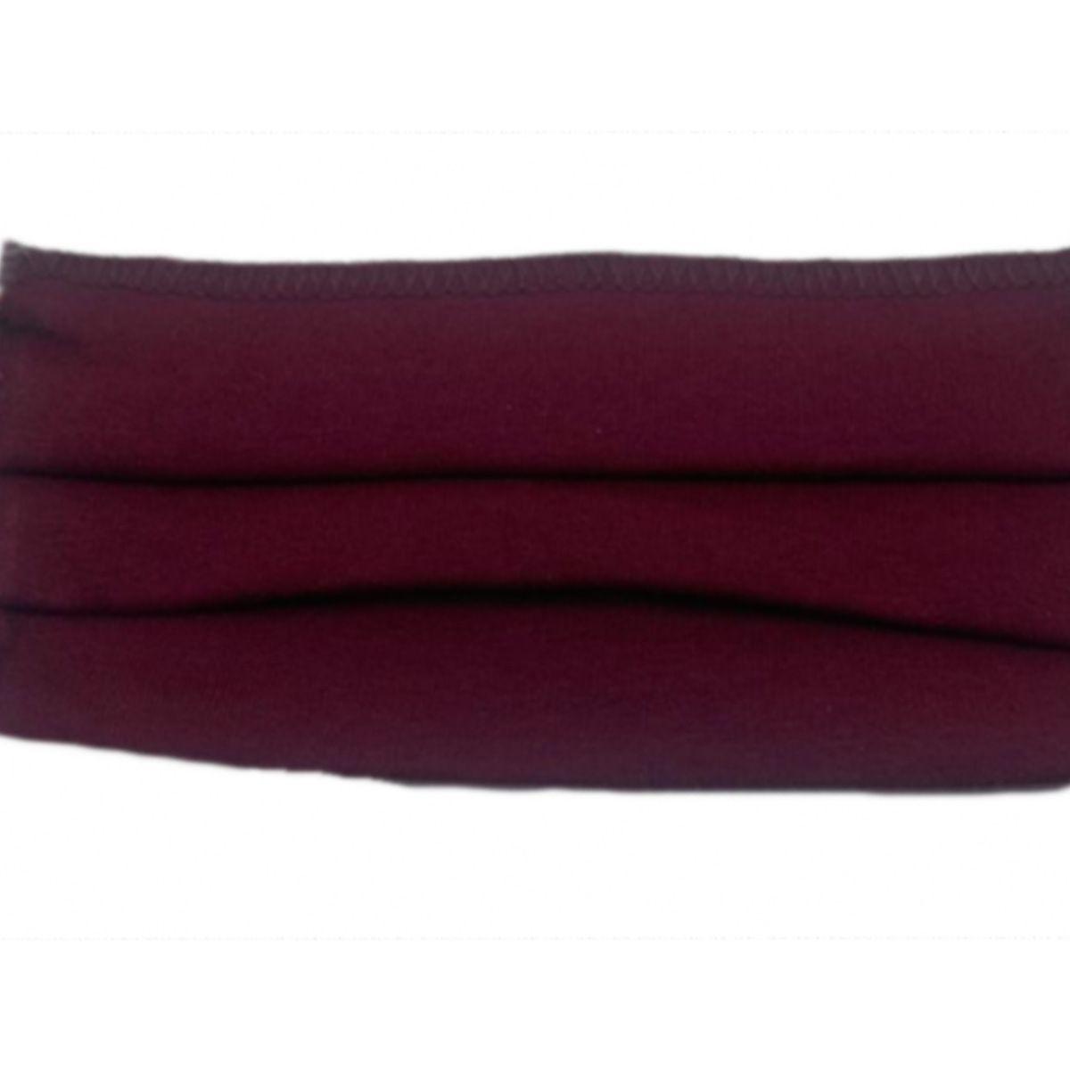 2 Máscaras Reutilizáveis Proteção Respiratória Vermelho