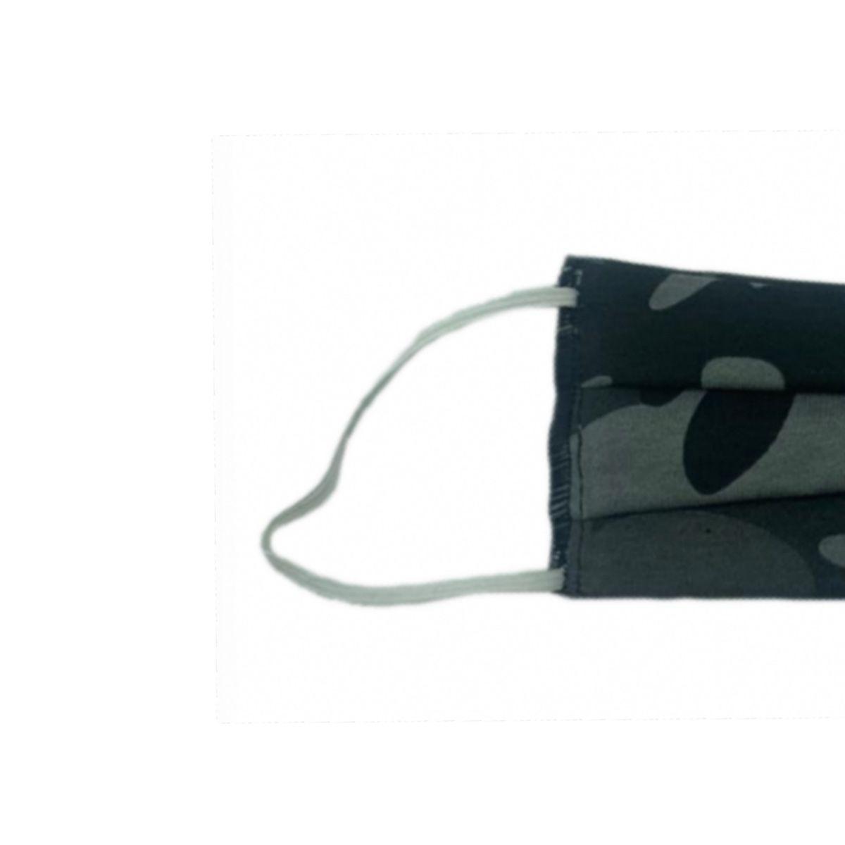 5 Máscaras Reutilizáveis Proteção Respiratória Camuflado