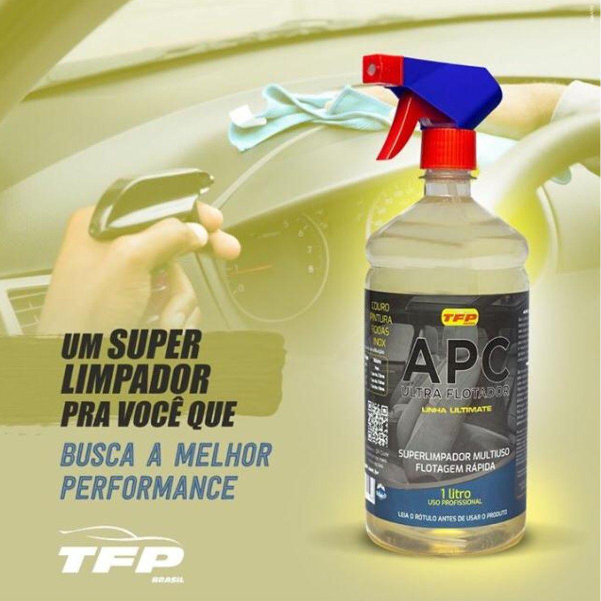 Apc Multiuso Ultra Flotador 1l (BRINDE Aplicador Microfibra)