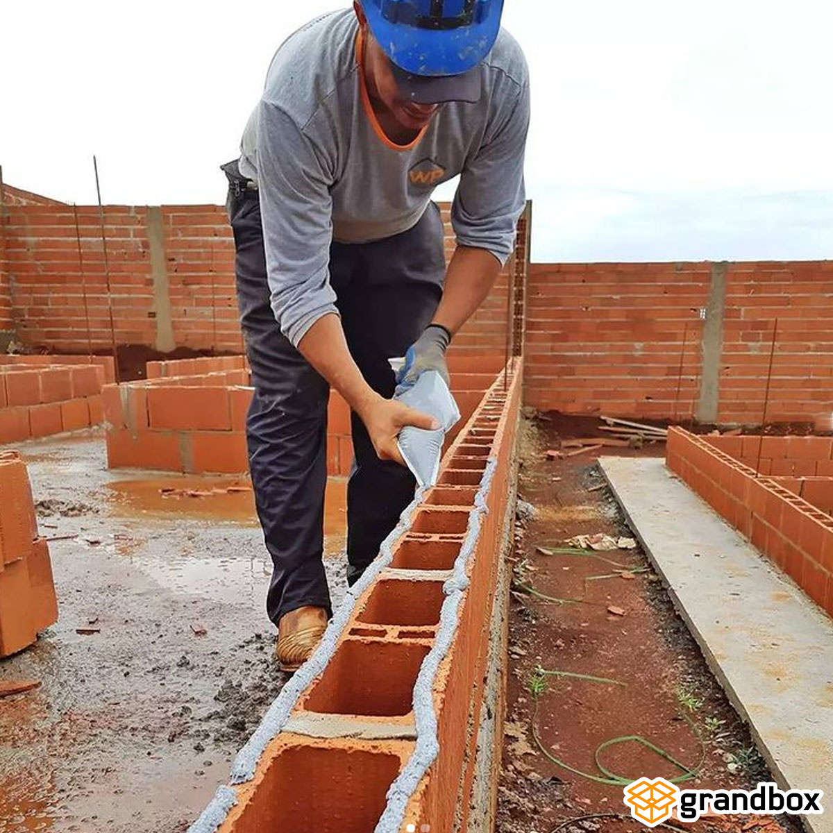 Argamassa Assentamento De Blocos e Tijolos Biomassa 3kg