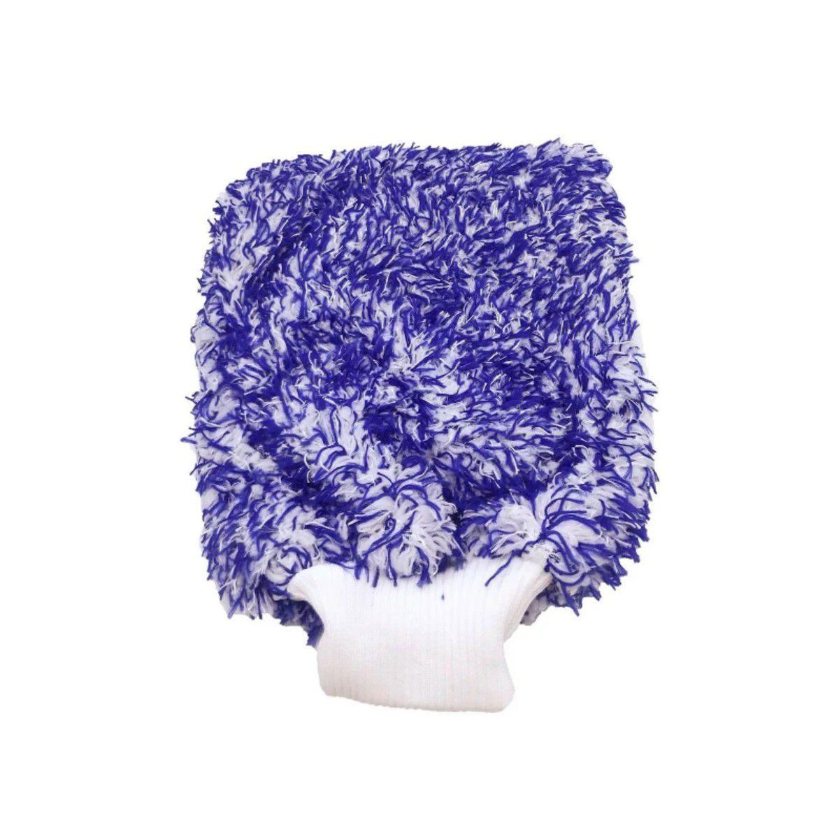 Balde Separador De Partícula + Luva De Microfibra Tornado Azul
