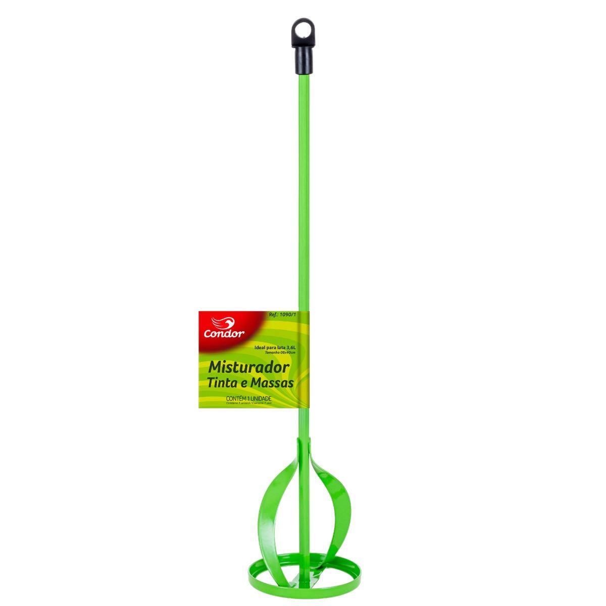 Batedor Misturador De Tinta Massa Argamassa Para Furadeira Tamanho:40cm