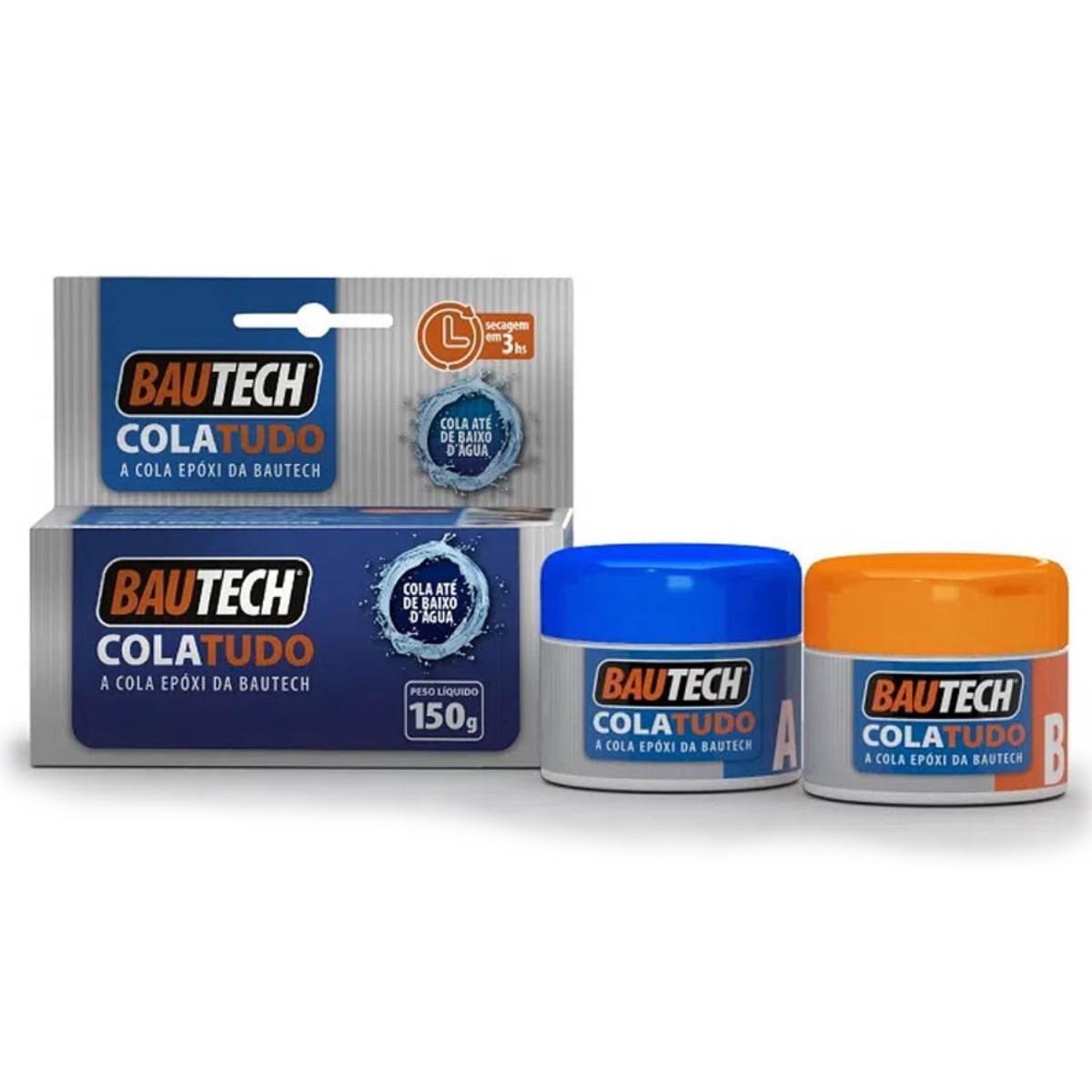 Bautech Cola Tudo Cola Até Debaixo Dágua 150g
