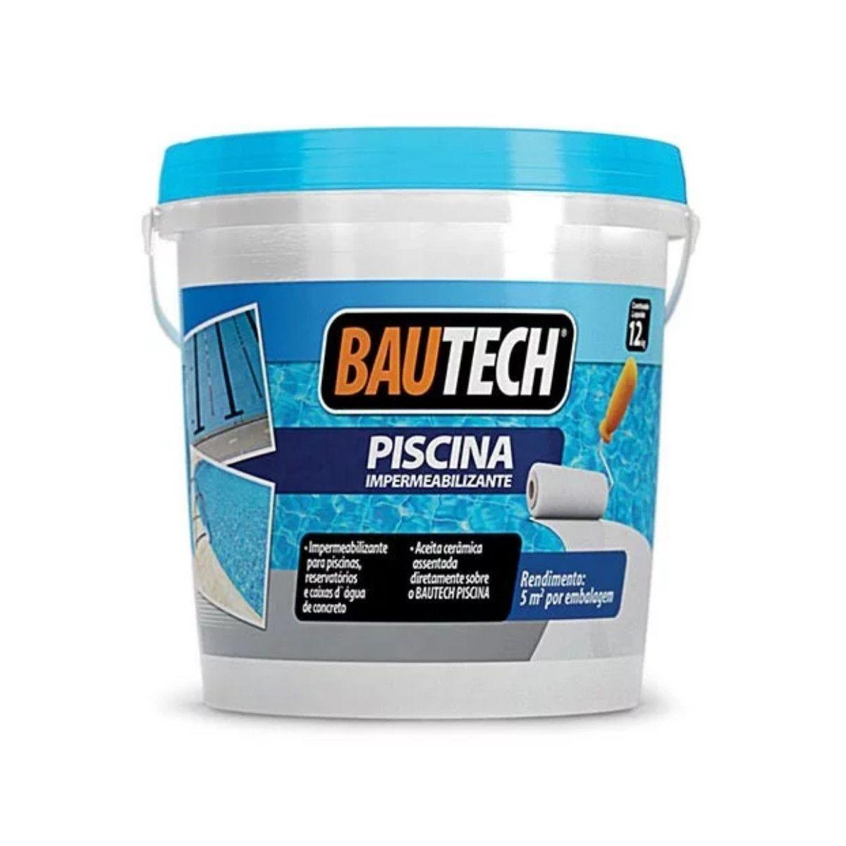 Bautech Impermeabilizante para Piscina 12kg