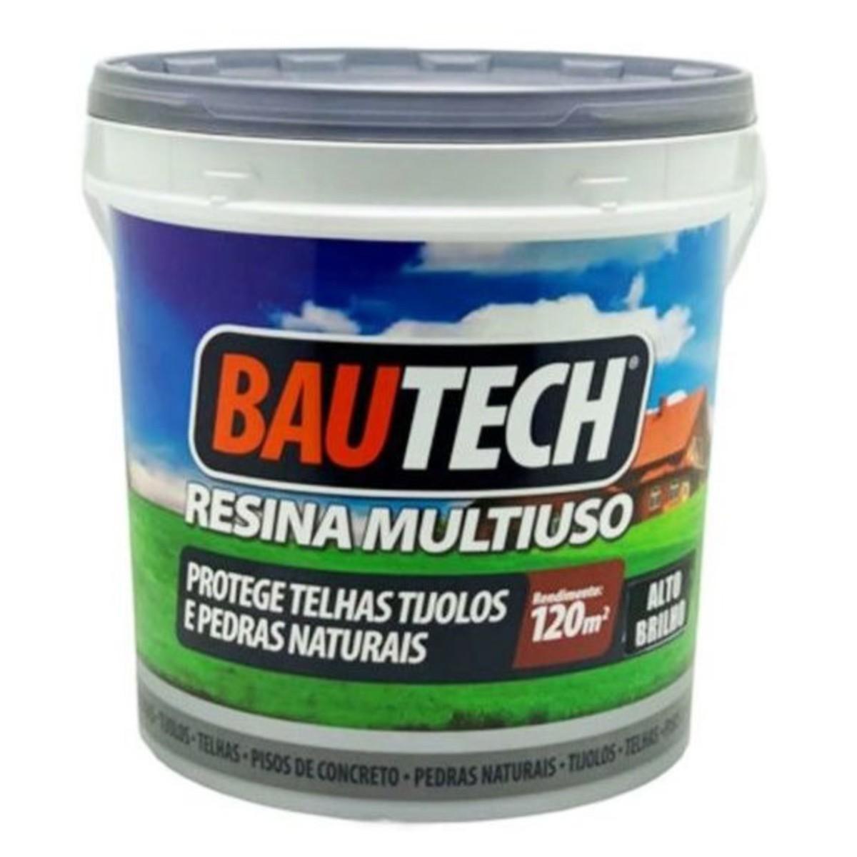 Bautech Resina Acrílica Multiuso 12l - Brilho Incolor