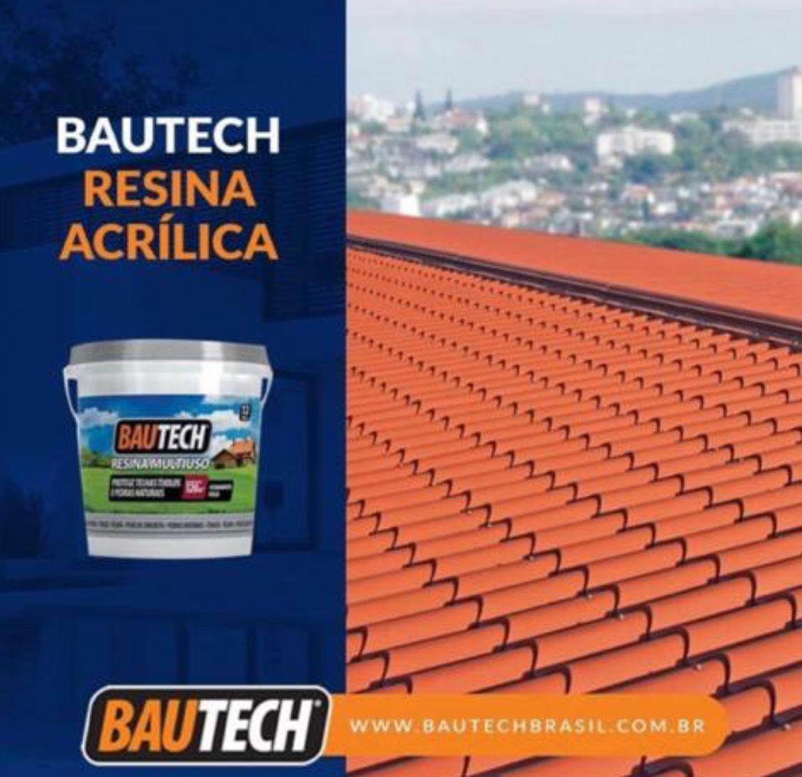 Bautech Resina Acrílica Multiuso 3,6l - Brilho Incolor