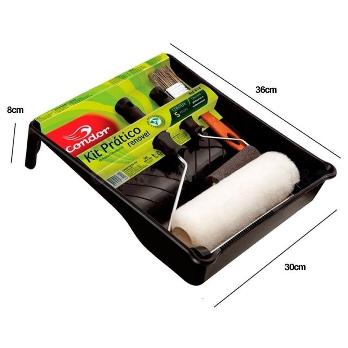Bautech Tinta Parede Branco 4kg (Brinde Kit Pintura Condor)