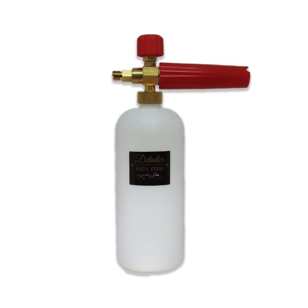 Canhão Espuma Snow Foam + Detergente P/ Limpeza Pesada 2,2L