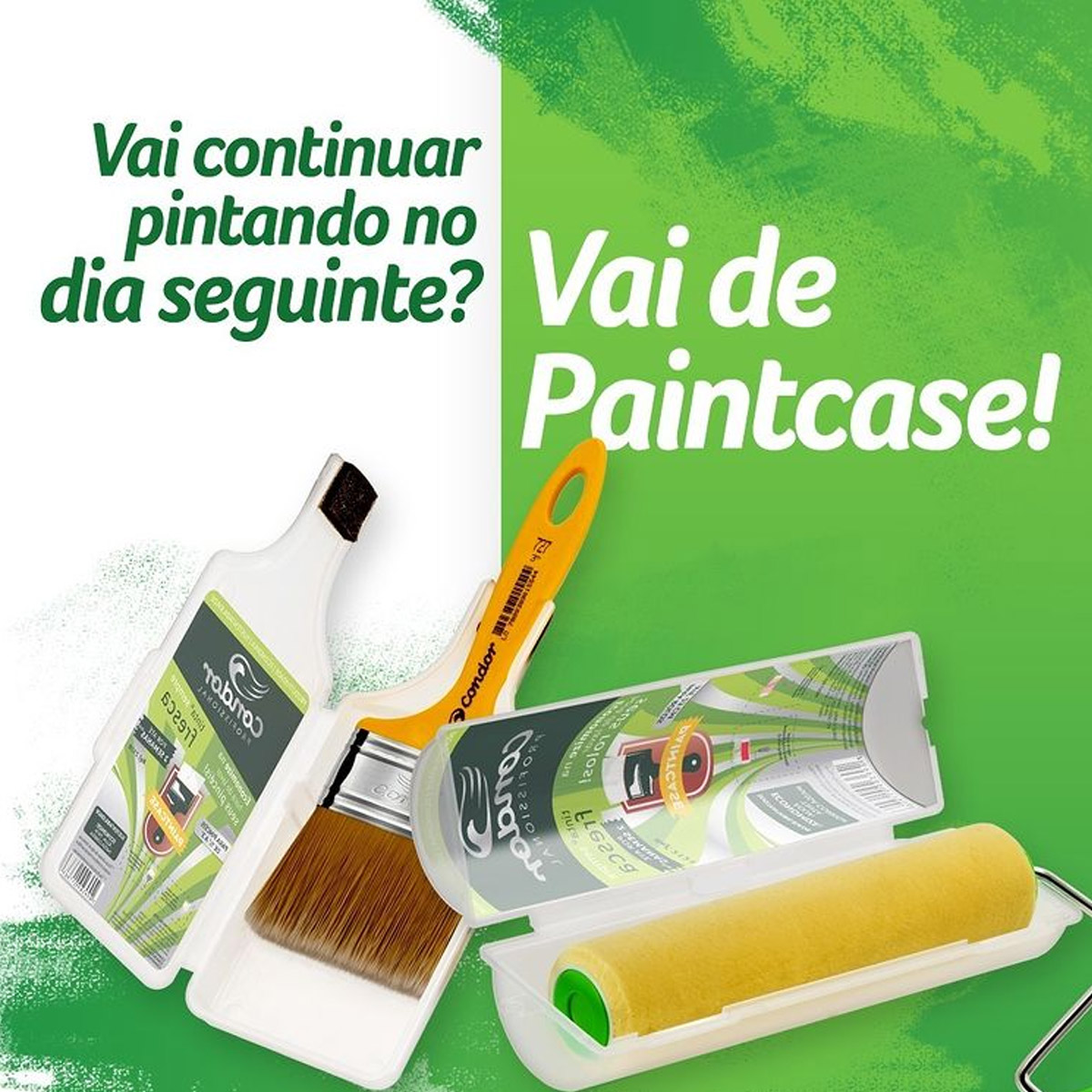 Capa Rolo Mantem Tinta Fresca Paintcase Condor 2121