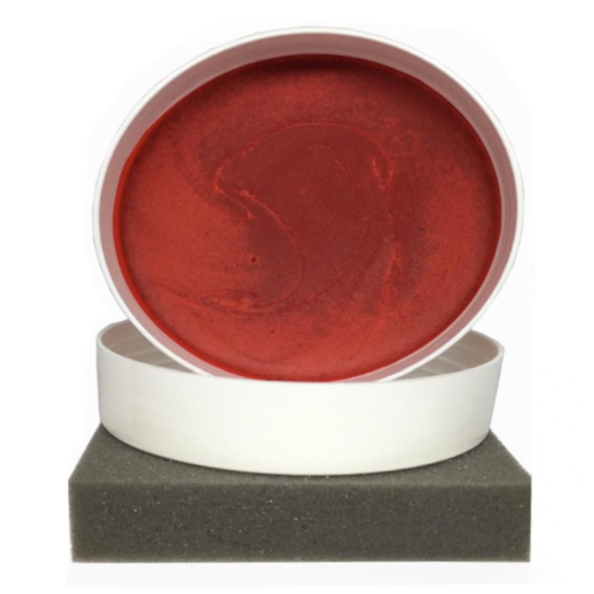 Cera Cristalizadora Própria Carro Vermelho Wax Color Red140g