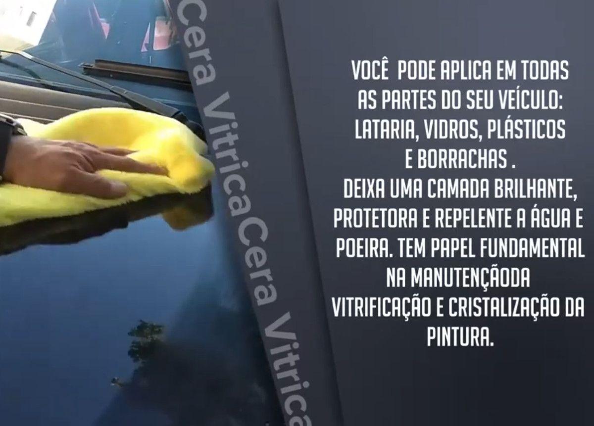 Cera Liquida Automotiva Vitrica Cristalizadora Sio2 500ml
