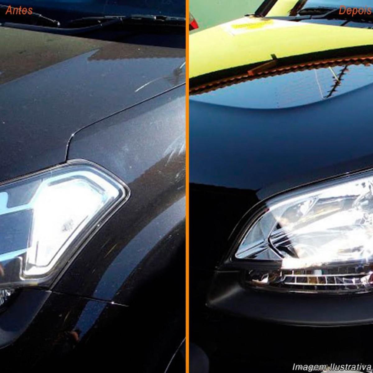 Cera Para Carros Escuros C/ Vitrificador Pintura 30ml TFP