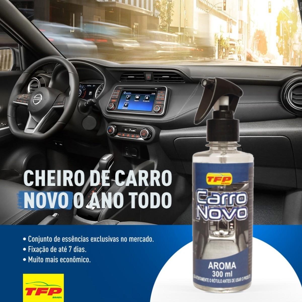 Cheirinho Carro Novo TFP 300ml (Promoção por tempo limitado)