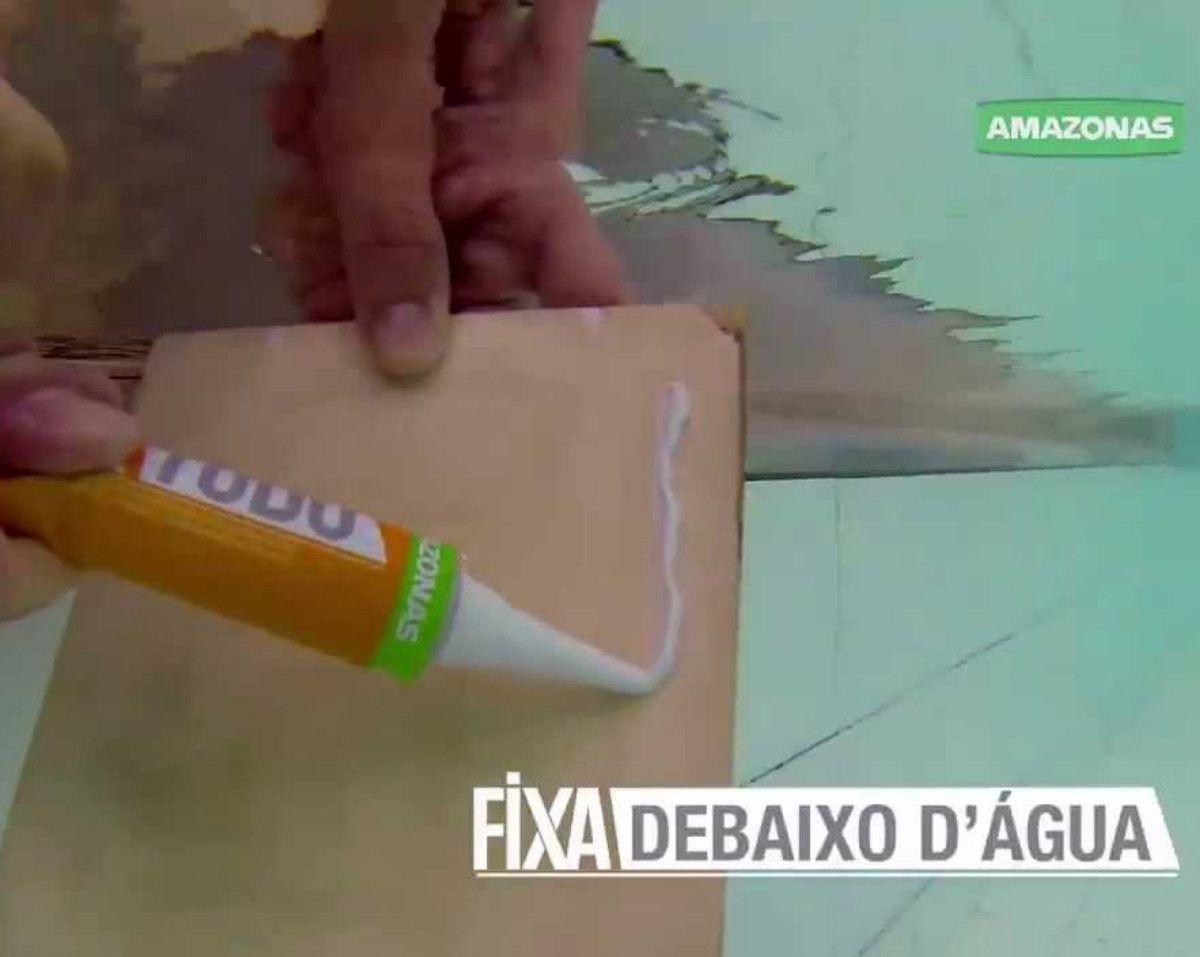 Cola Adesivo Fixa Tudo Amazonas Cola Até Debaixo Água 85g 2 Unidades