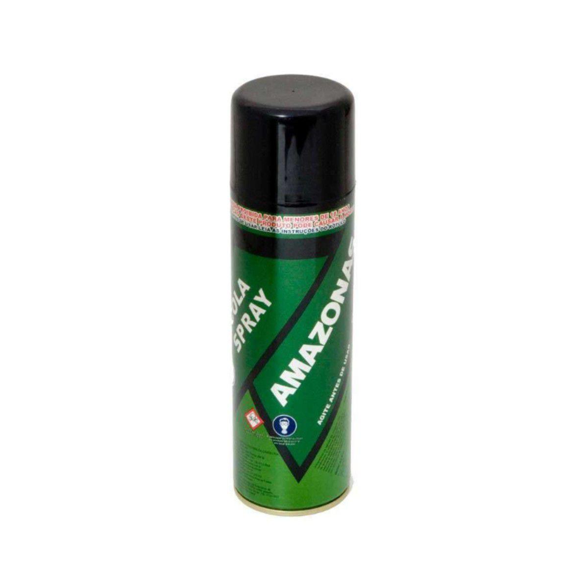 Cola De Contato Spray Amazonas 340g Tapeceiro
