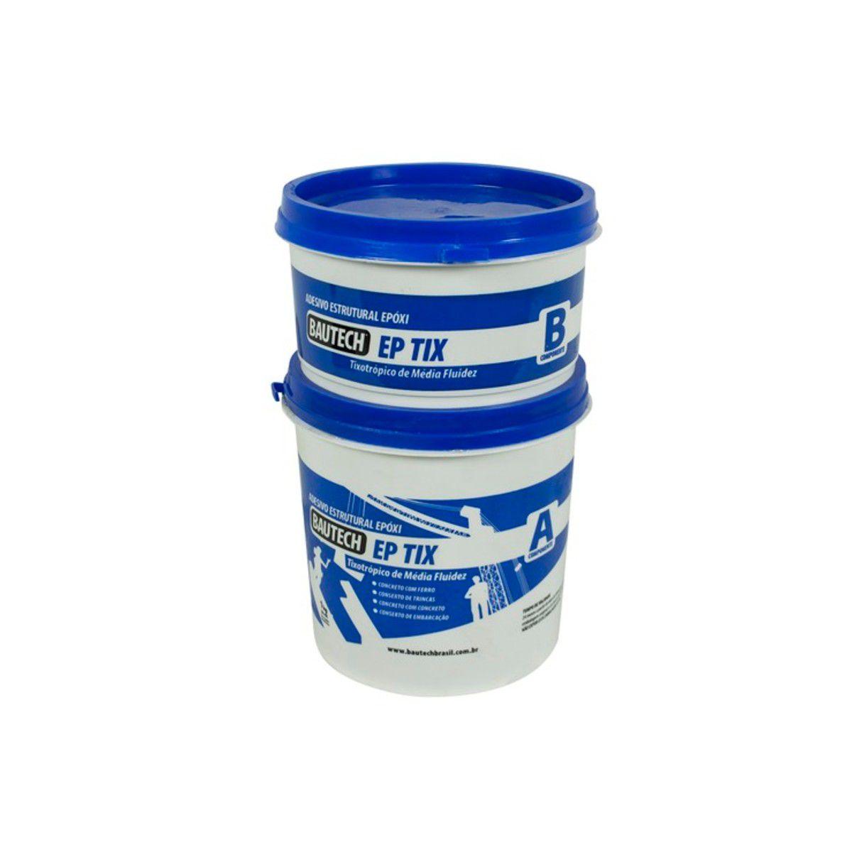 Cola Estrutural Adesivo Ep 1kg Compound Bautech