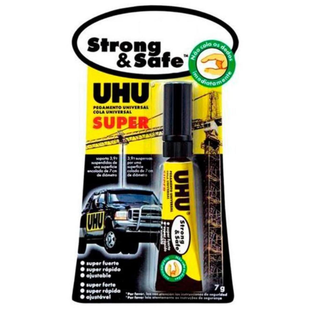 Cola Super Forte Strong & Safe UHU 7g