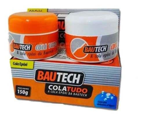 Cola Tudo Bautech - Cola Até Debaixo Dágua 150g Kit 4 Unidad