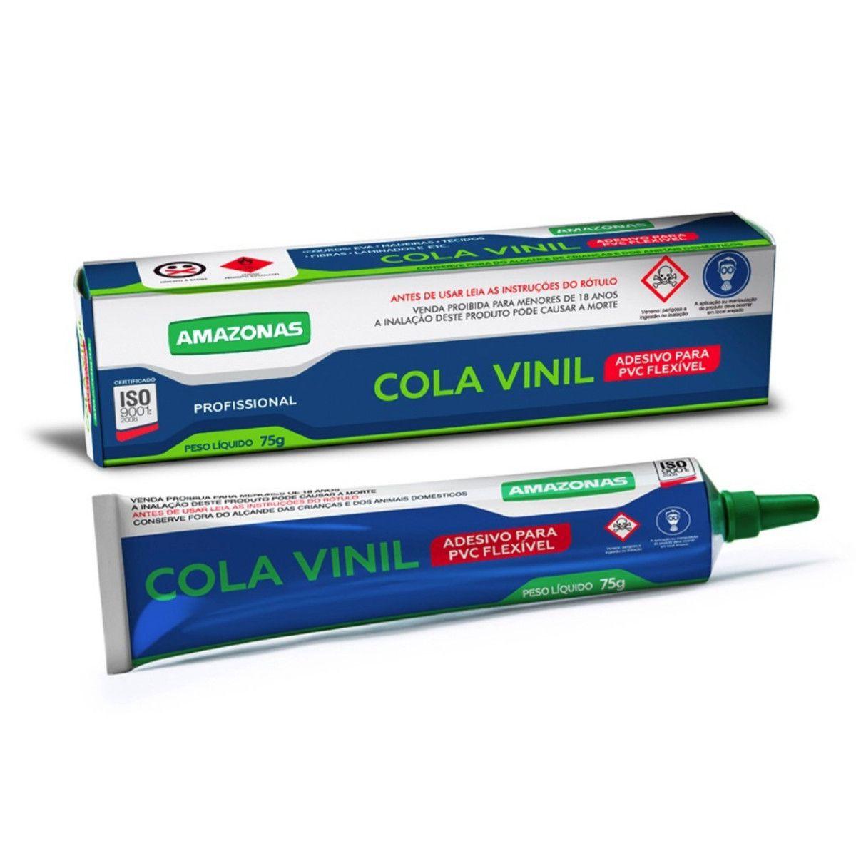 Cola Vinil Reparos, Piscina , Lonas ,toldos Amazonas 75g