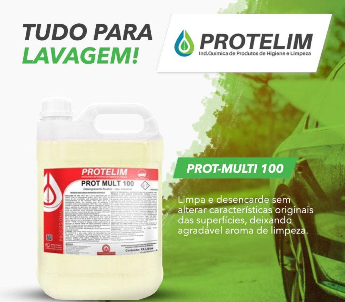 Desengraxante Prot Mult 100 Alcalino 5 Litros Protelim