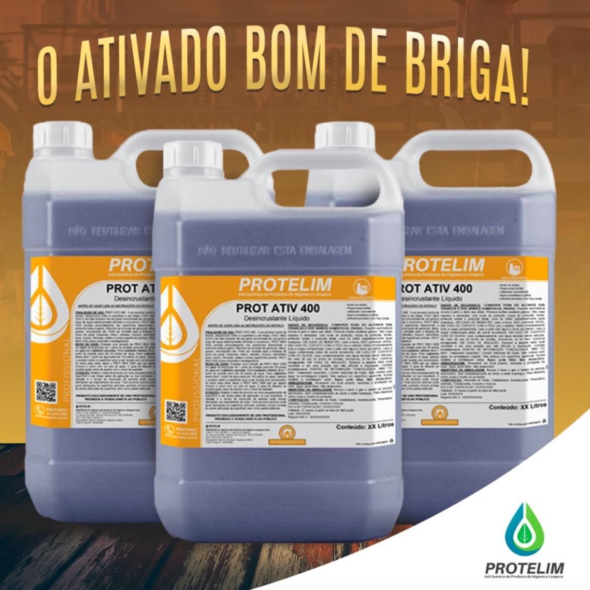 Detergente Desincrustante Ácido Limpa Baú Prot Ativ 400 5L