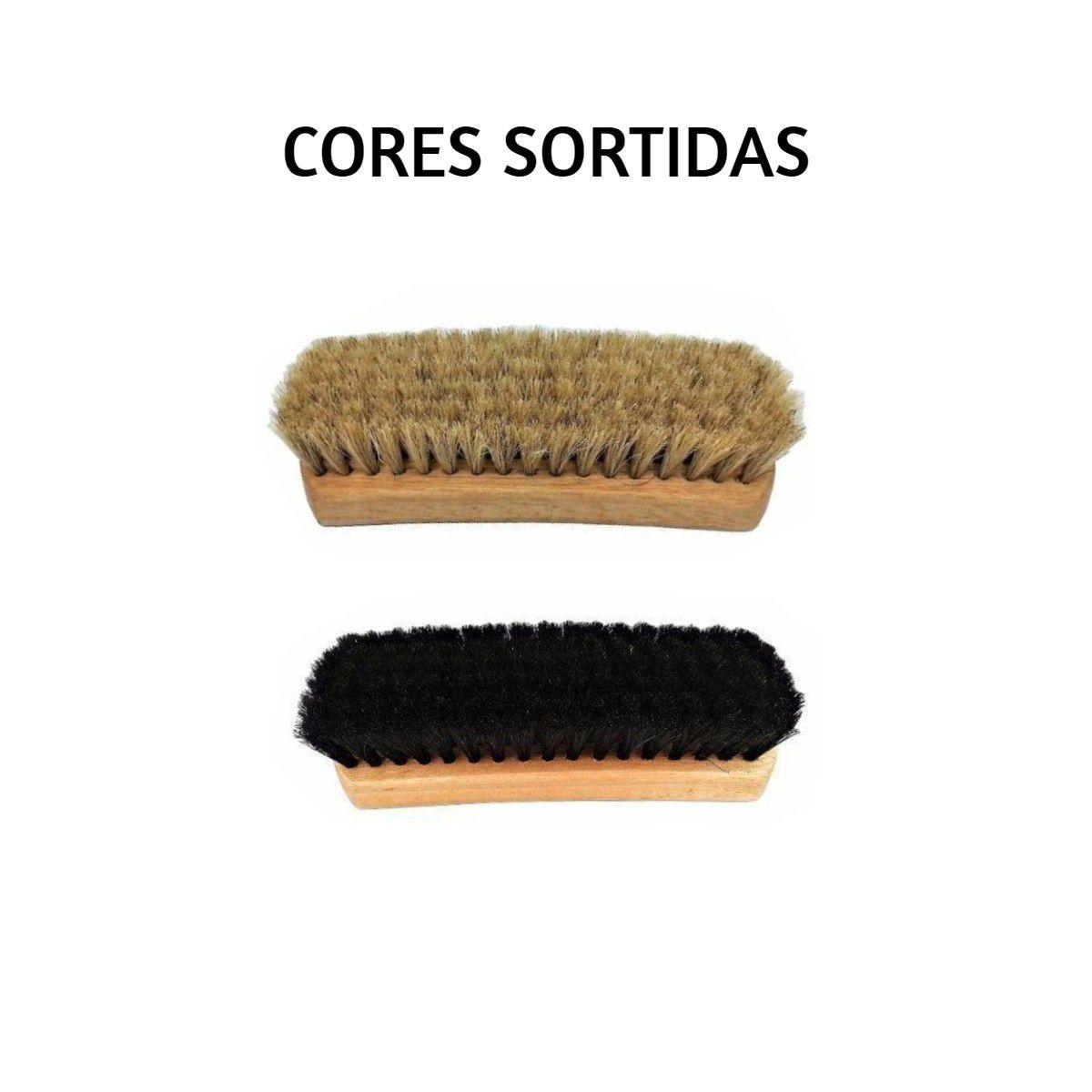 Escova Cerdas Duras P/ Estofados + Escova Cerdas Macias