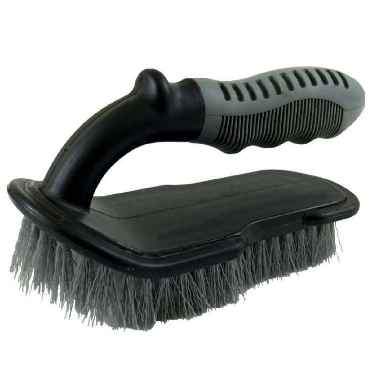 Escova Cerdas Duras P/ Estofados + Escova De Silicone Remoção de Pelos - Mandala