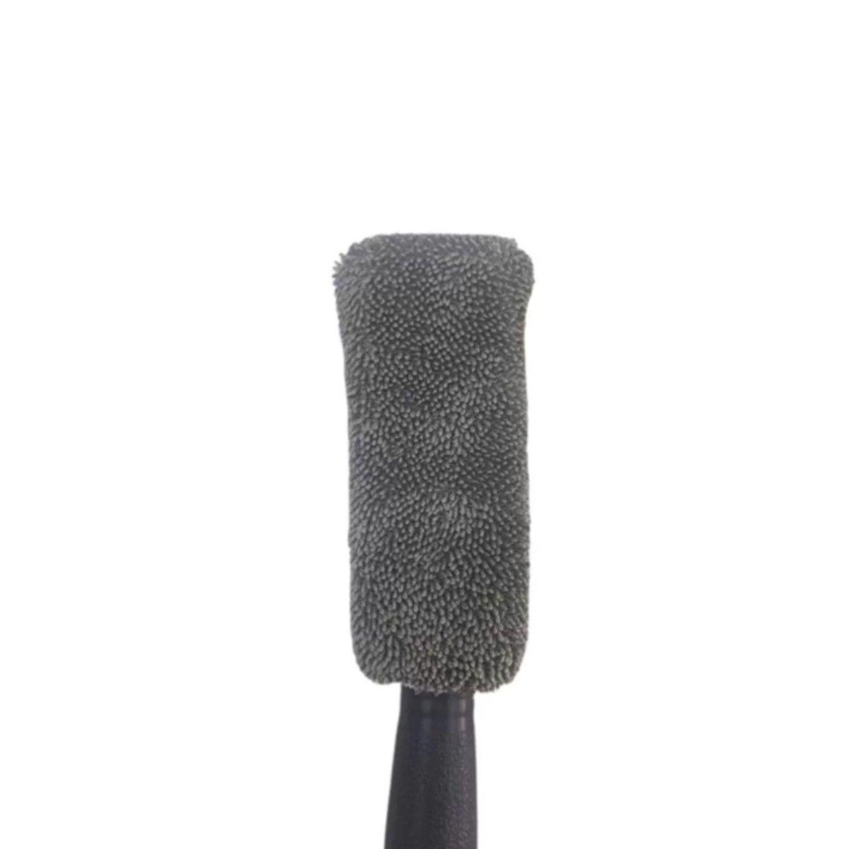 Escova de Microfibra para Limpeza de Roda Cinza Detaileir