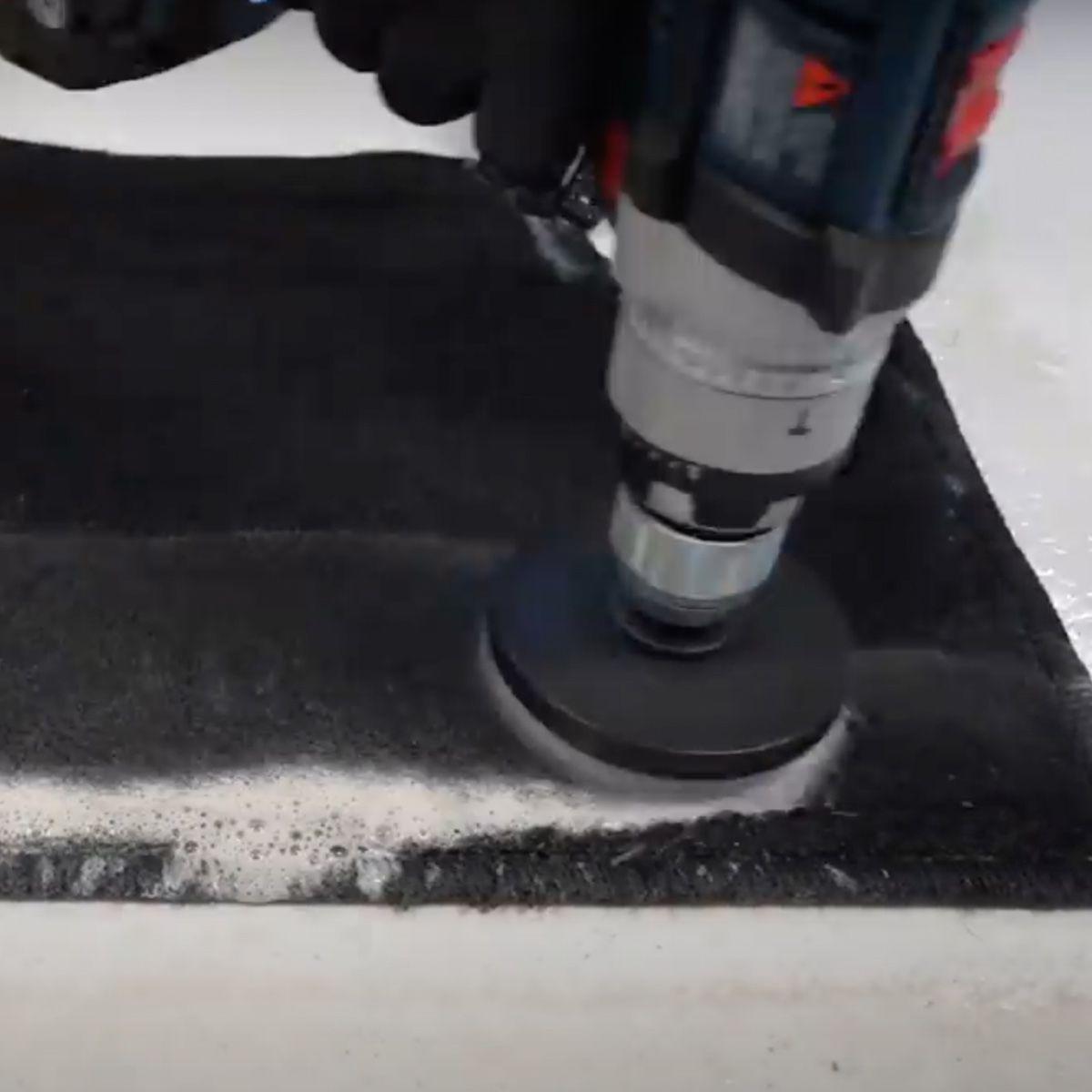Escova Politriz Cerdas Macias + Limpa Carpete E Estofados 1L