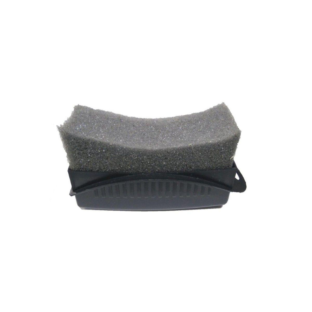 Escovas p/ Rodas (Caixa, Furo, Pneu) + Aplicador de Pretinho