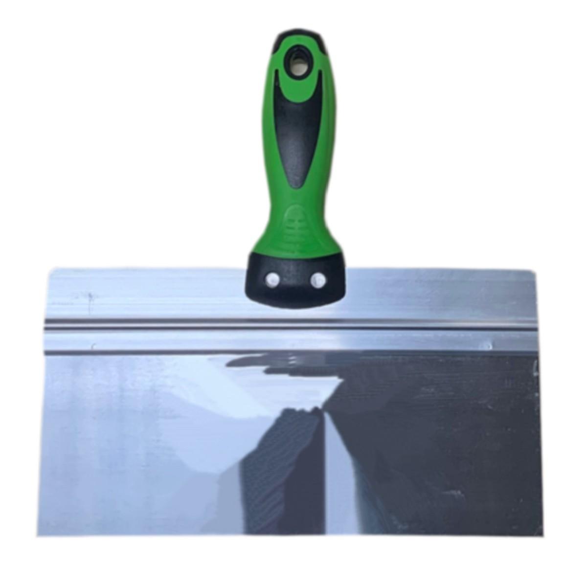 Espátula Aço Inox 10'' / 25cm Massa Corrida, Gesso E Drywall