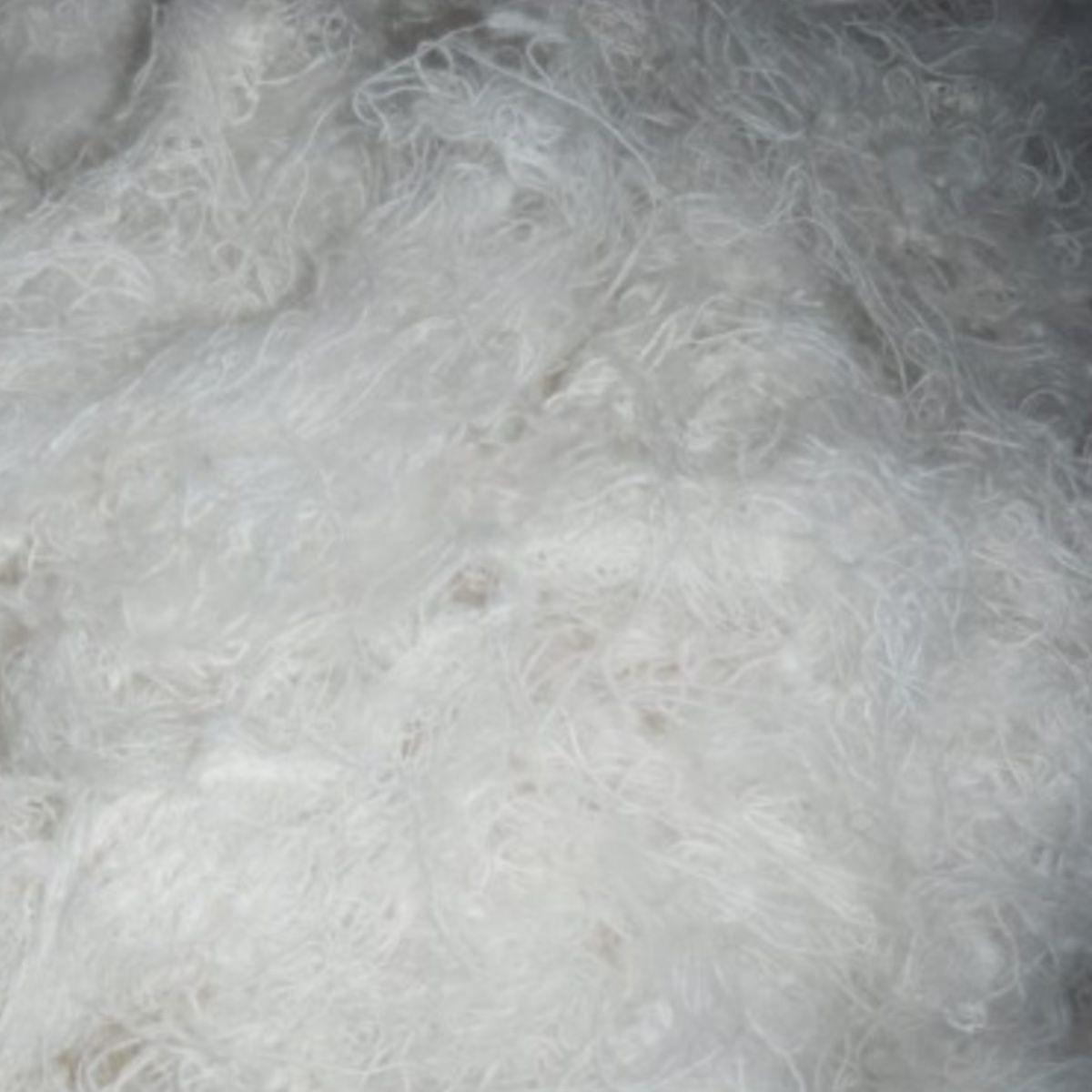 Estopa Branca De Algodão Para Polimento E Acabamento Fino