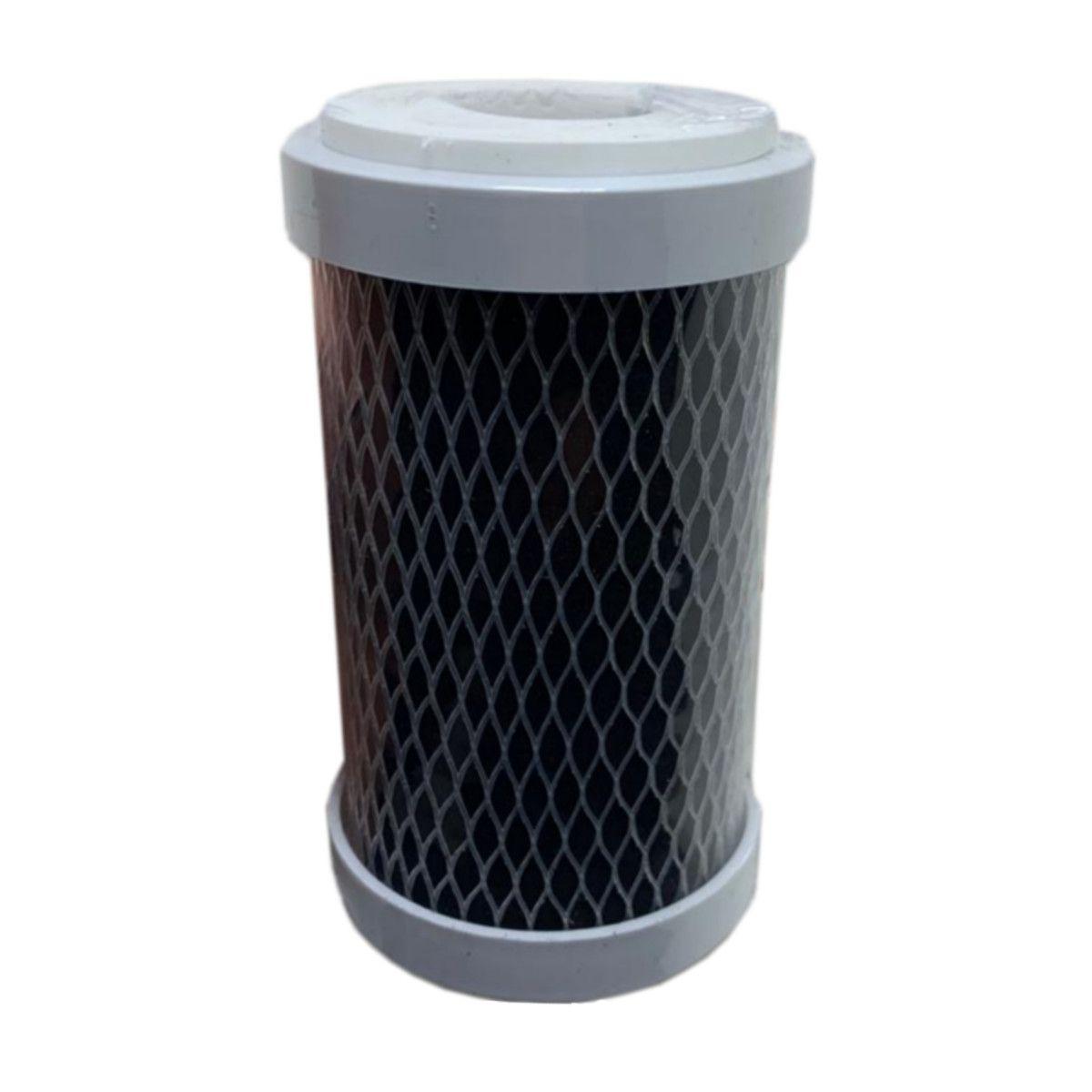 """Filtro De Carvão Ativado 5"""" - Tira Cloro - Chuveiro"""