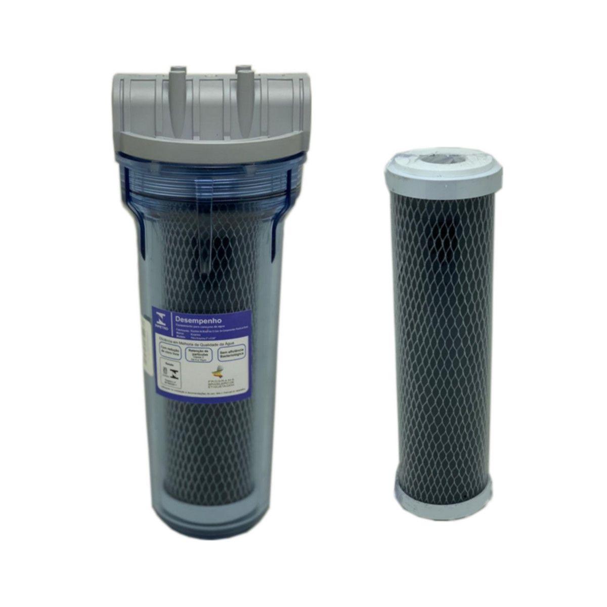 Filtro Transparente Pou 9.3/4 + Refil
