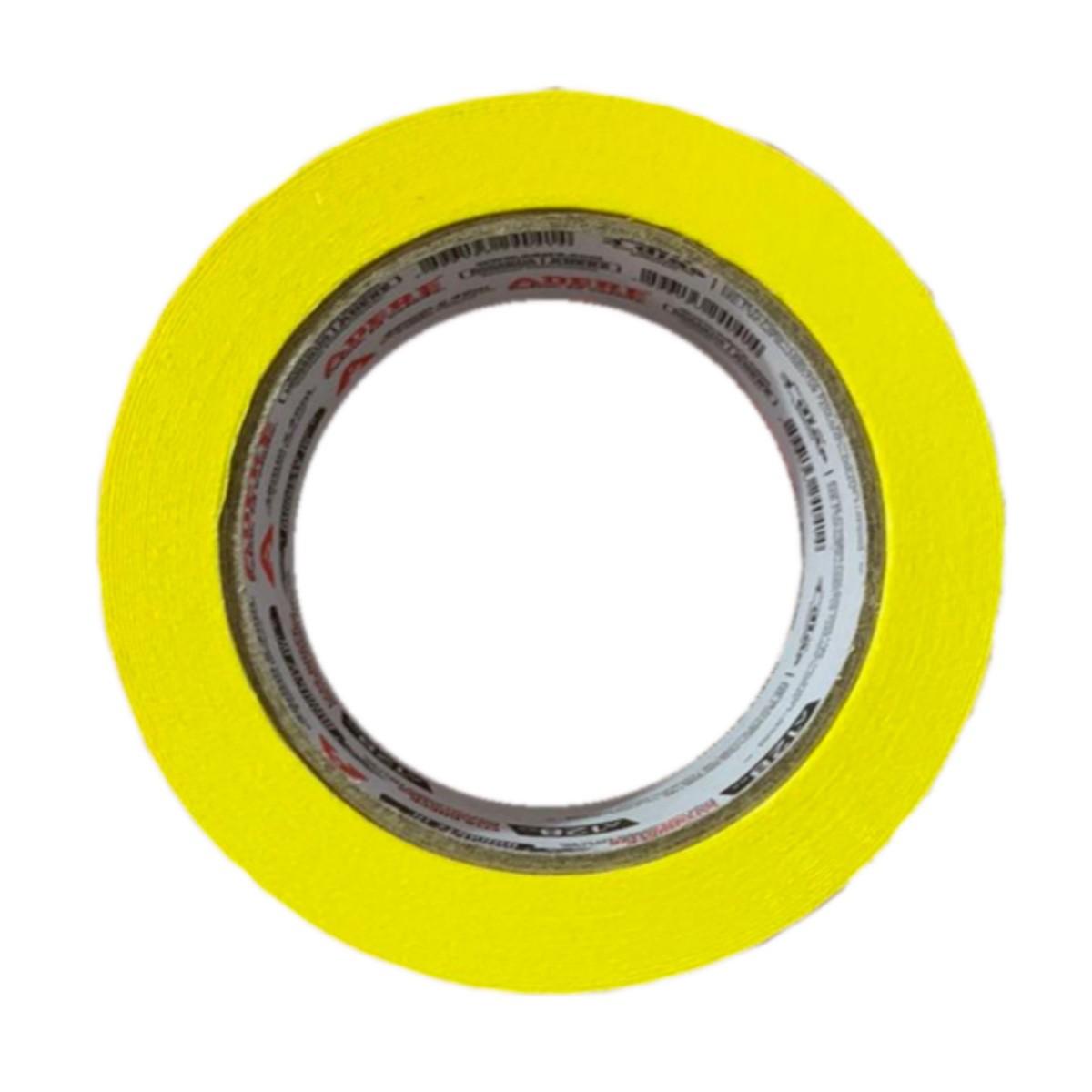 Fita Crepe Amarela P/ Pintura Automotiva 48x40