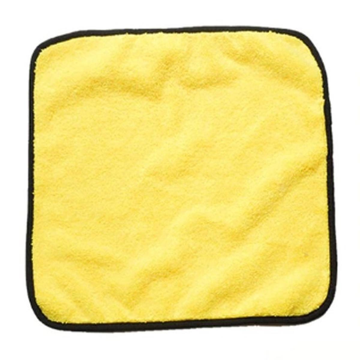Flanela de Microfibra Amarelo 38x38cm Mandala Detailer 380gm2