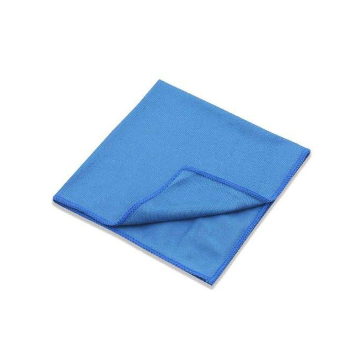 Flanela para Limpeza de Vidros 38x38cm Azul Detailer
