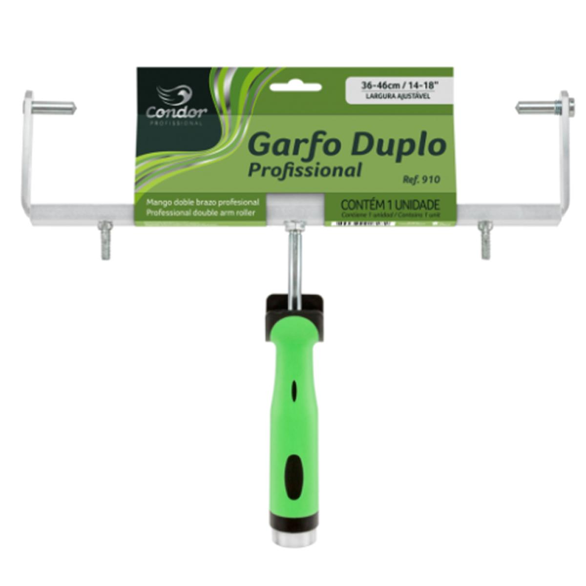 Garfo Duplo Ajustável 36 a 46cm P/ Big Rolo 910 Condor
