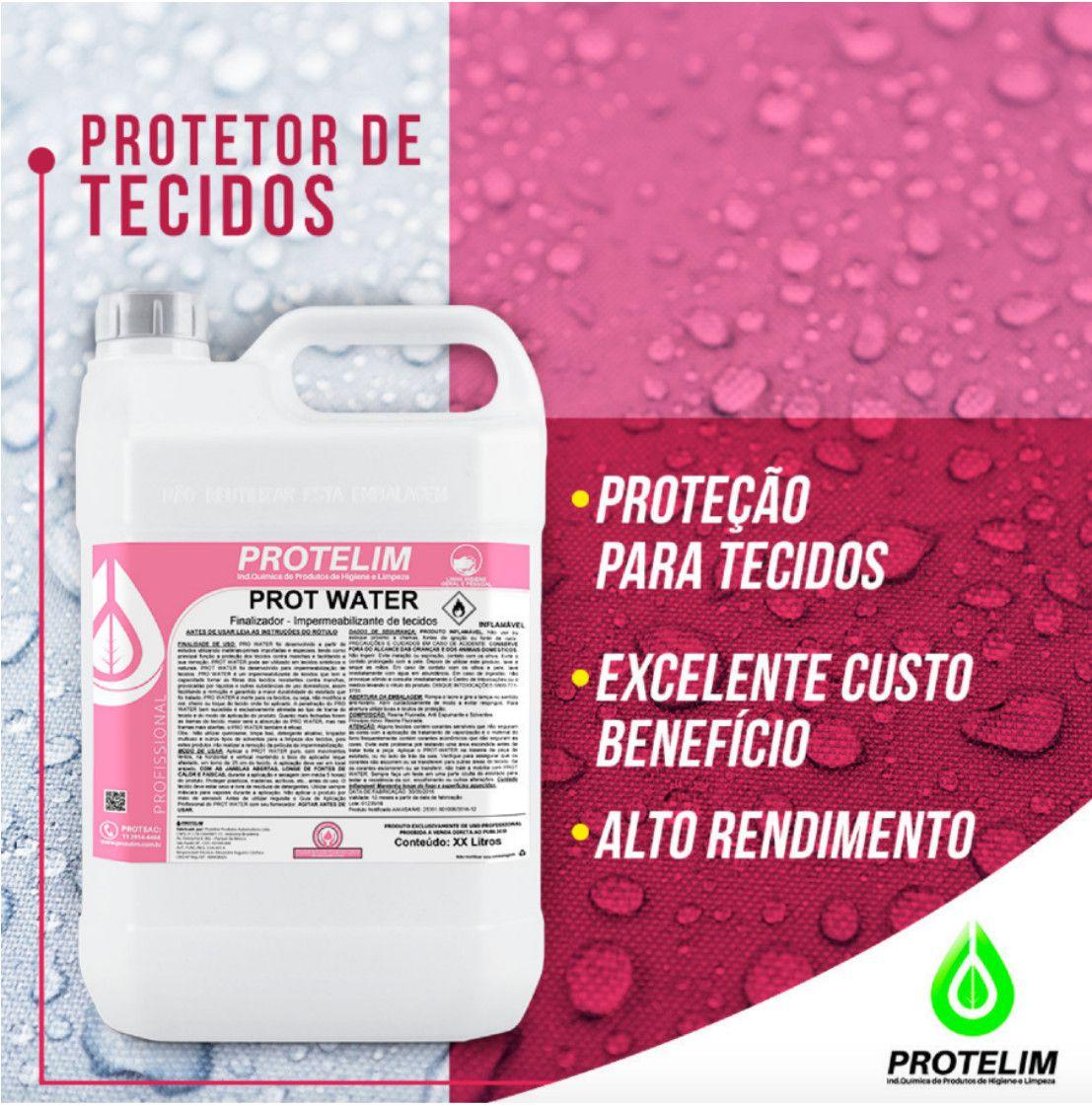 Impermeabilizante De Estofados e Tecidos Prot-water Protelim 5 Litros