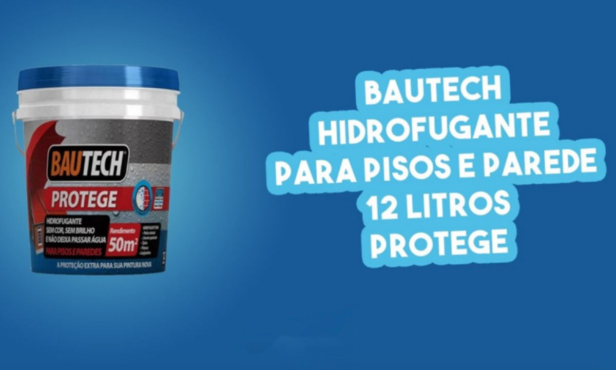 Impermeabilizante Hidrofugante Protege 12Kg Bautech