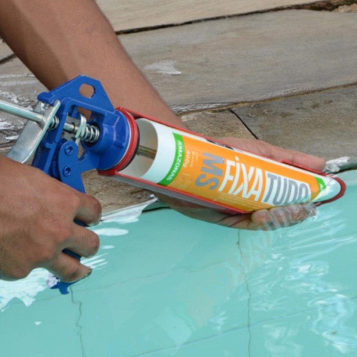 Kit 5 Cola Fixa Tudo Ms 400g Amazonas