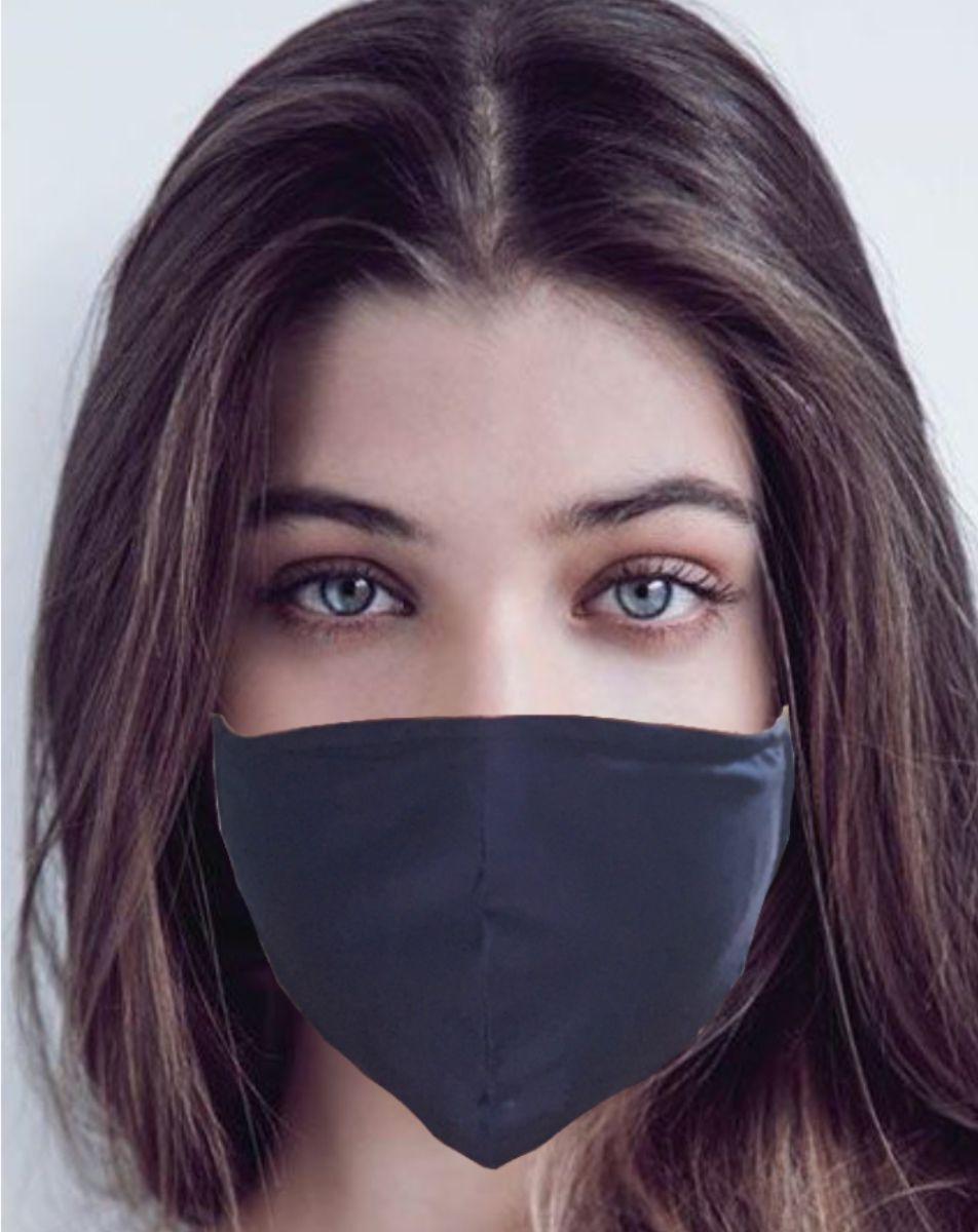 Kit 5 Máscaras Laváveis Ajustável Tecido Dúpla Reutilizável