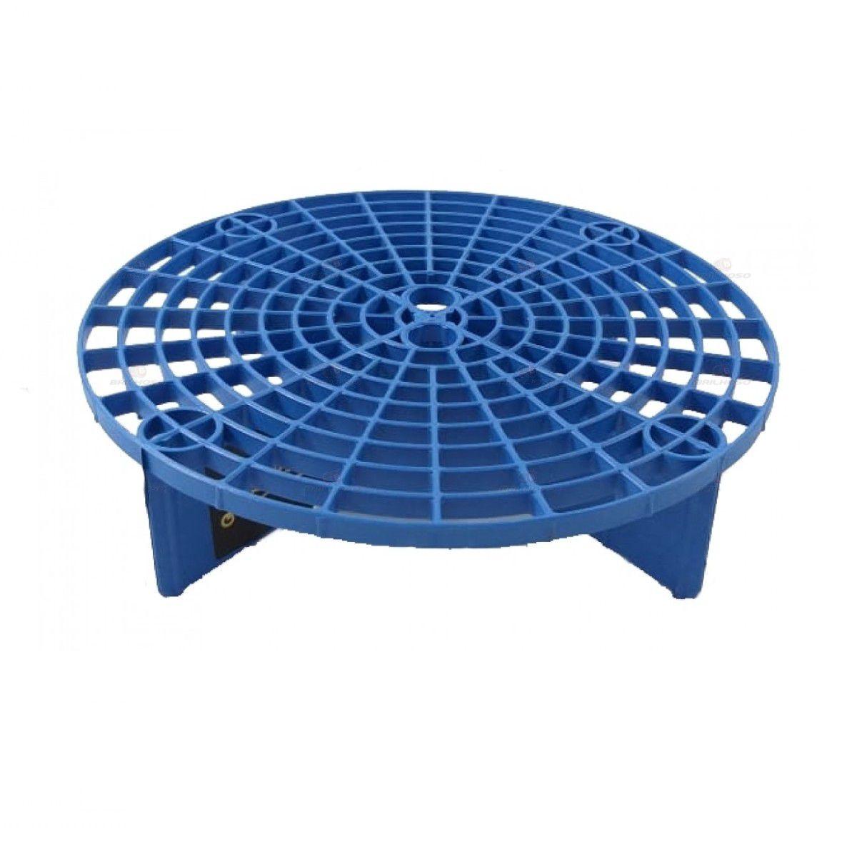 Kit Balde Com Separador De Partículas + Escovas Caixa e Furo de Rodas Mandala