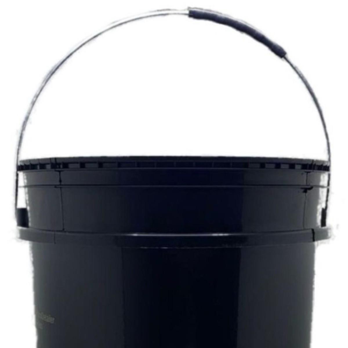 Kit Balde Separador De Partículas Preto Detailer/mandala - 2 Unidades