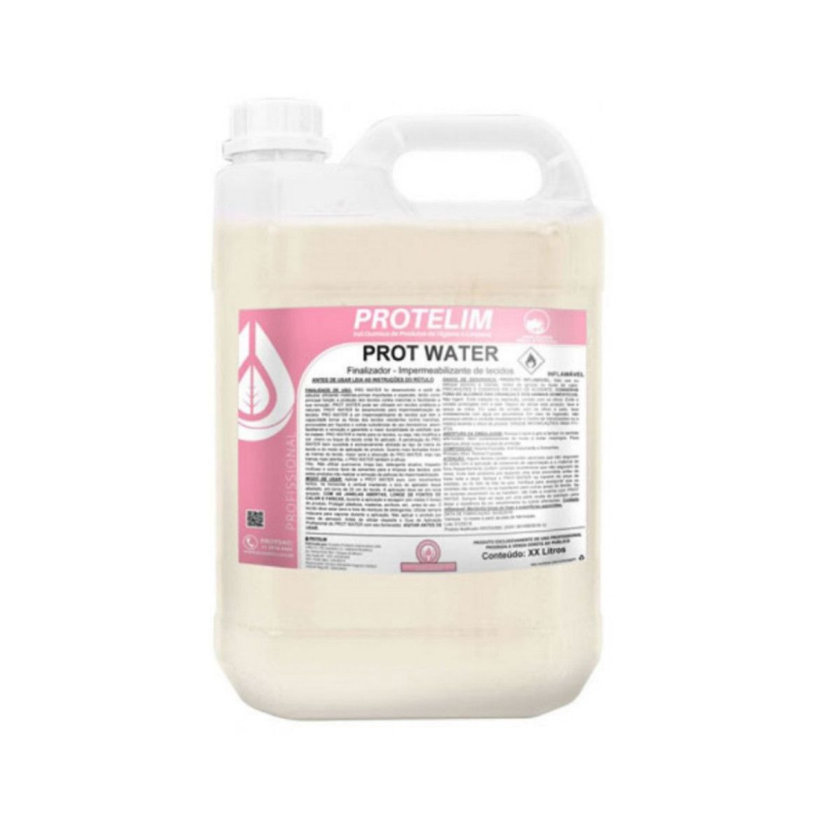 Kit Impermeabilizante De Tecidos Sofá Estofados Prot Water Prot Carp20 Protelim