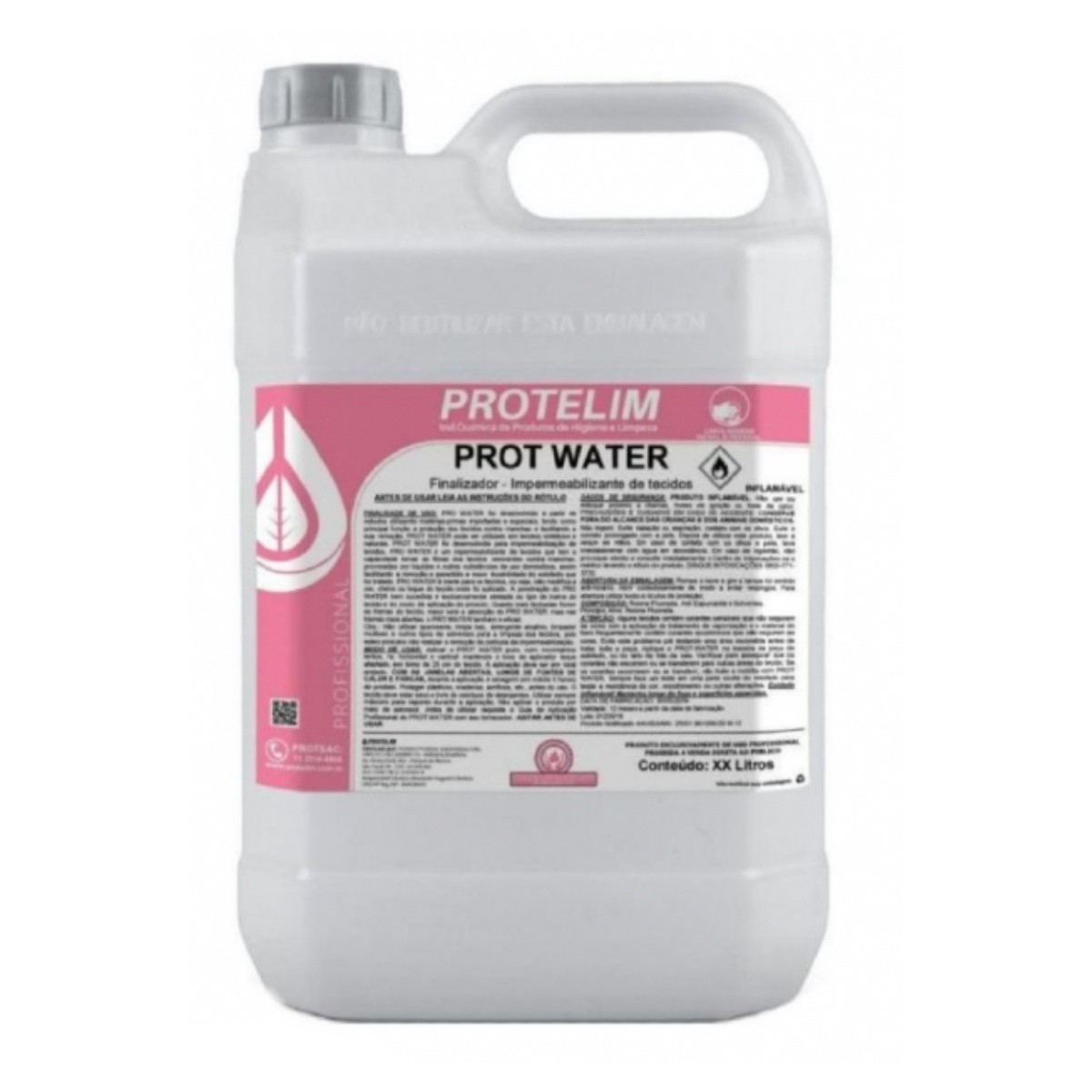 Kit Impermeabilizante para Estofado e Tecido Prot-Water Protelim 20 Litros